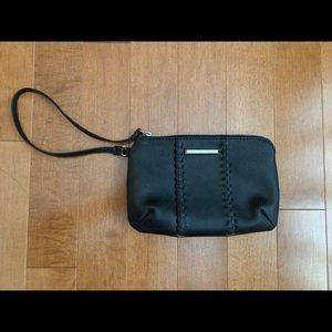 Dana Buchman Black Clutch Wristlet Bag Purse
